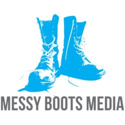 MessyBootsMedia Logo