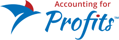Cropped Accounting For Profits Logo